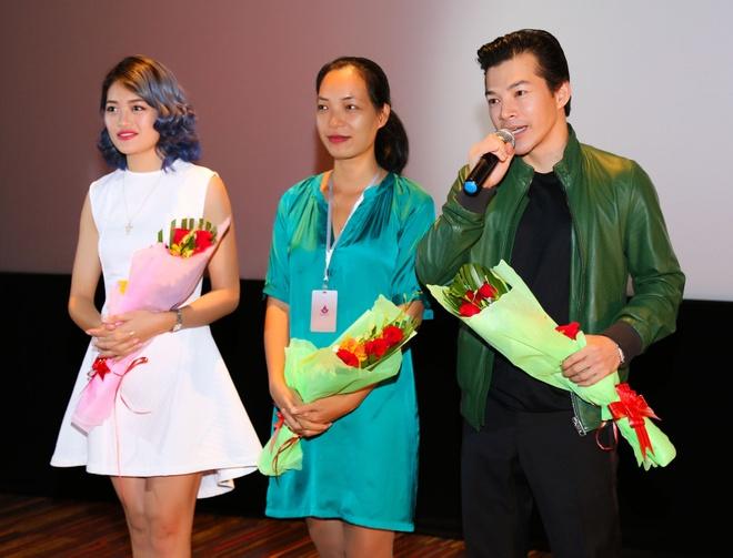 Tran Bao Son - Thuy Anh gap go khan gia truoc them LHP hinh anh 2