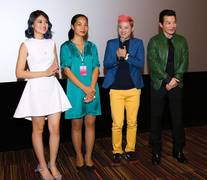 Tran Bao Son - Thuy Anh gap go khan gia truoc them LHP hinh anh 1