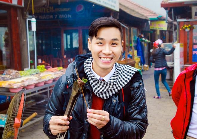 Nguyen Khang quang ba du lich Sapa hinh anh 1