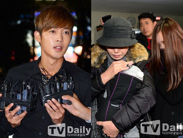 Cha me len tieng sau ket qua xac nhan con cua Kim Hyun Joong hinh anh 1