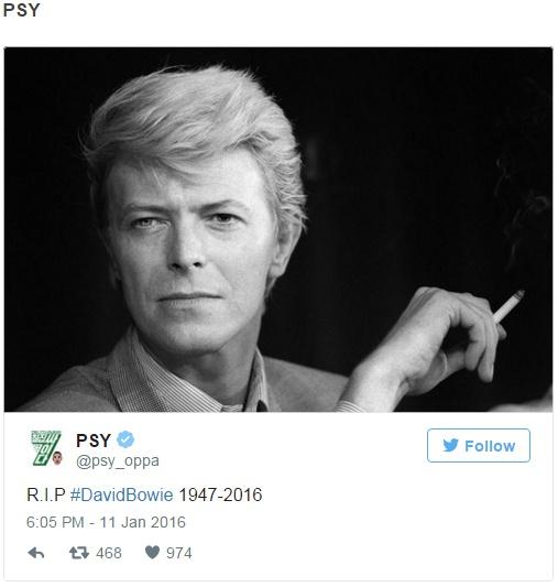 Sao Han dong loat dang anh tuong nho David Bowie hinh anh 1