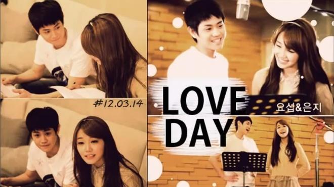 Love day - Yoseob & Eun Ji hinh anh