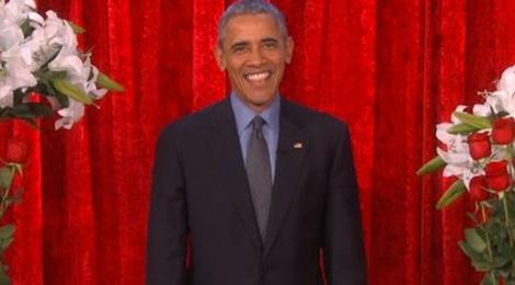 Tong thong Obama lam tho tinh tang vo hinh anh