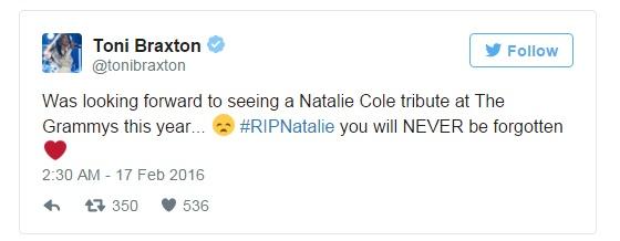 Gia dinh Natalie Cole noi gian voi Grammy hinh anh 2