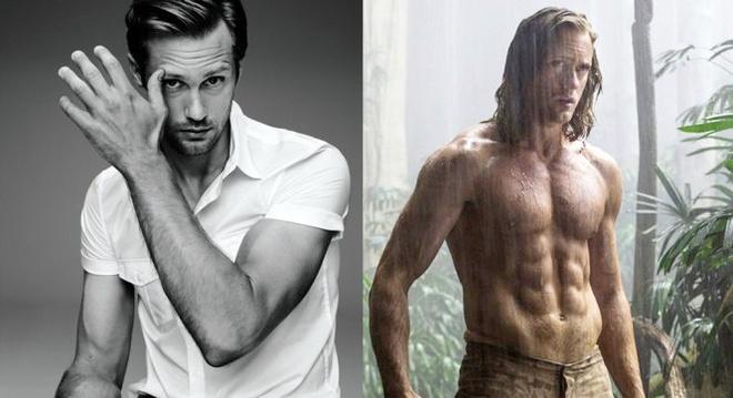 Hình tượng nam tính của Alexander Skarsgård trong bom tấn The legend of  Tarzan .