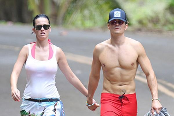 Orlando Bloom - Katy Perry bi bat gap tay trong tay o Hawaii hinh anh