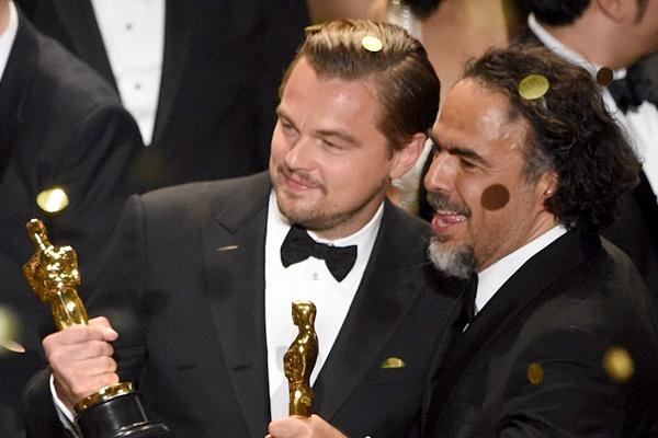 Leonardo DiCaprio tiec tung mung chien thang Oscar hinh anh