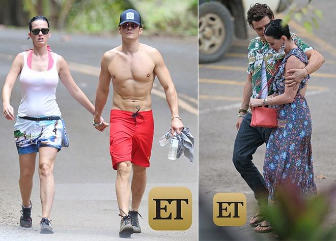Orlando Bloom - Katy Perry bi bat gap tay trong tay o Hawaii hinh anh 1