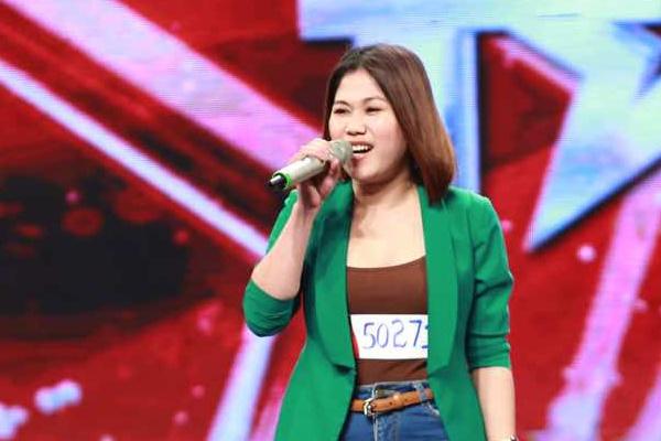 Co gai Philippines hat 'Uoc gi' cua My Tam tai Got Talent hinh anh