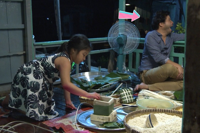 Bo con cua Bo oi minh di dau the chat vat goi banh chung hinh anh 8