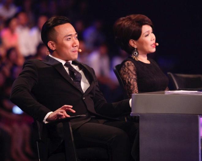 Tran Thanh say sua xem Hari Won bieu dien o Got Talent hinh anh 3