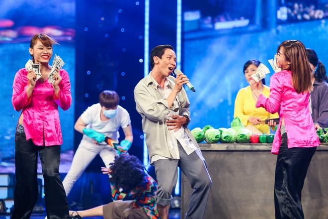 Tran Thanh say sua xem Hari Won bieu dien o Got Talent hinh anh 10