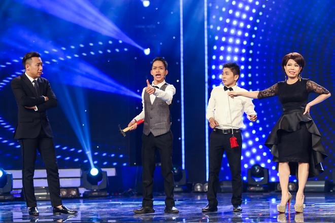 Tran Thanh say sua xem Hari Won bieu dien o Got Talent hinh anh 7