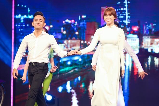 Tran Thanh say sua xem Hari Won bieu dien o Got Talent hinh anh 1