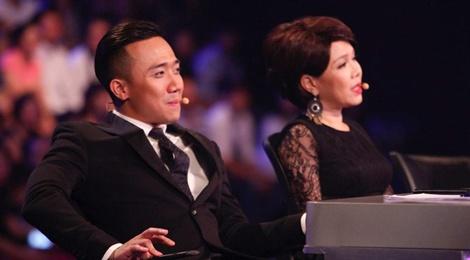 Tran Thanh say sua xem Hari Won bieu dien o Got Talent hinh anh