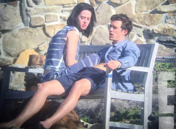 Orlando Bloom hon Katy Perry hinh anh 2