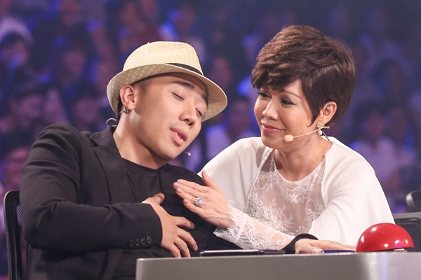 Tran Thanh thot tim voi vu cong 11 tuoi tai Got Talent hinh anh