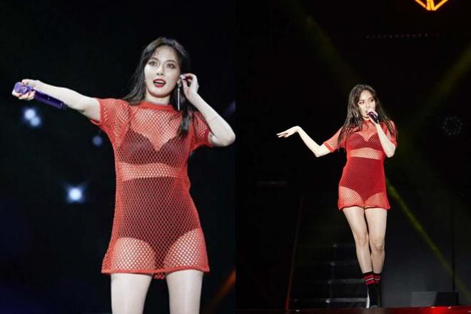 HyunA lo vong 3 va nhung lan bi 'nem da' vi mac qua ho hang hinh anh 9