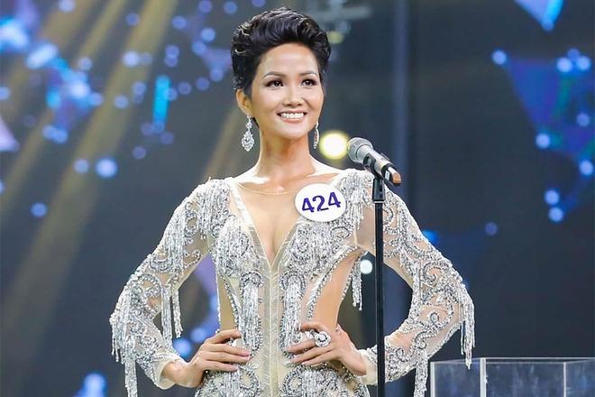 Hoa hau H'Hen Nie lam nen lich su tai Miss Universe 2018 hinh anh