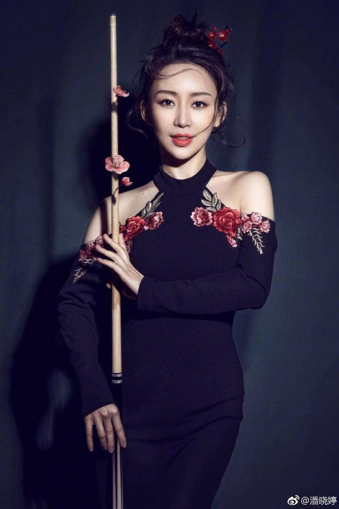 My nhan billiards Trung Quoc Phan Hieu Dinh hinh anh 2