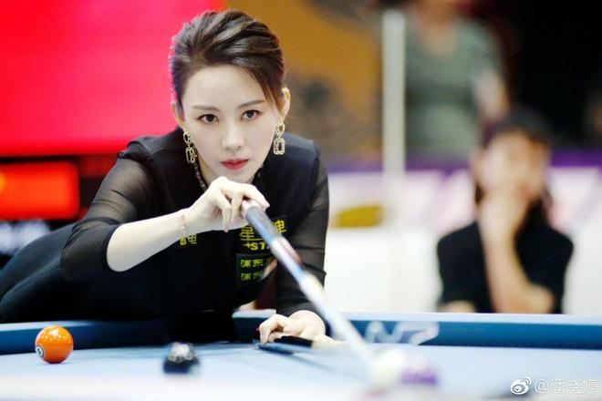 My nhan billiards Trung Quoc Phan Hieu Dinh hinh anh 6