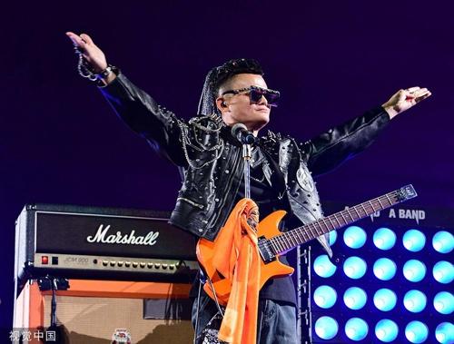 Jack Ma duoc khen khi hat rock o bua tiec tu chuc chu tich Alibaba hinh anh 1