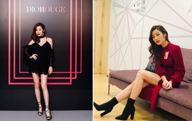 Duong Lieu Thanh - da nu gay ban tan vi canh nong o phim TVB hinh anh 8
