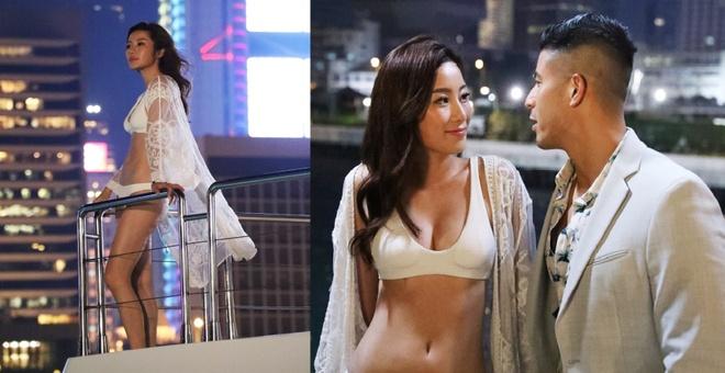 Duong Lieu Thanh - da nu gay ban tan vi canh nong o phim TVB hinh anh 3