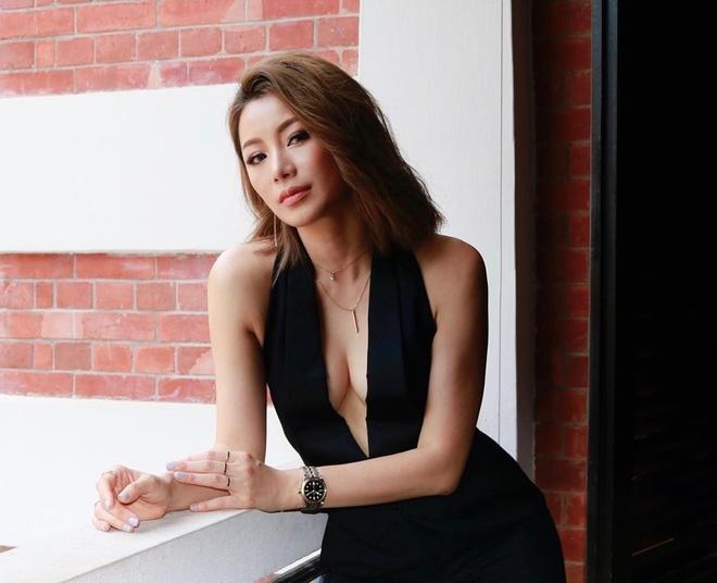Duong Lieu Thanh - da nu gay ban tan vi canh nong o phim TVB hinh anh 4