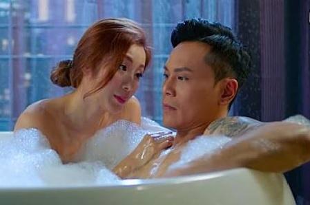 Duong Lieu Thanh - da nu gay ban tan vi canh nong o phim TVB hinh anh 2