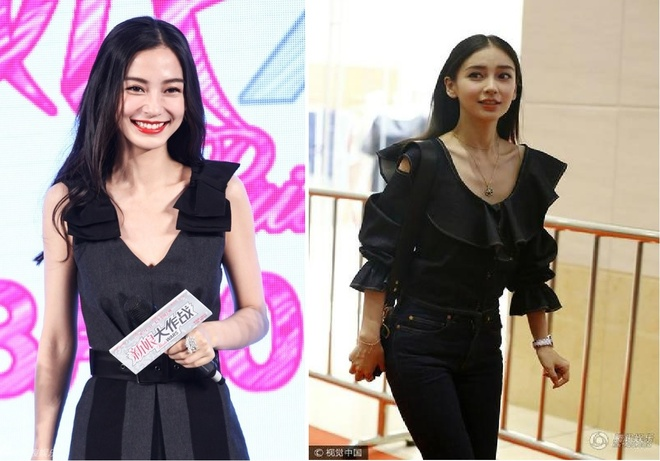 Angelababy so huu vong eo 54 cm hinh anh 2