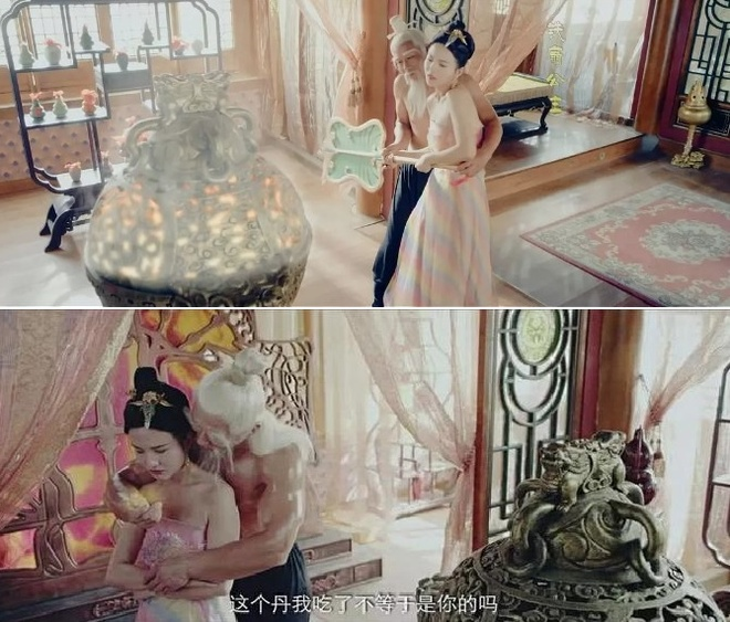 Canh an ai cua Thai Thuong Lao Quan va Ba La Sat gay phan no hinh anh 1