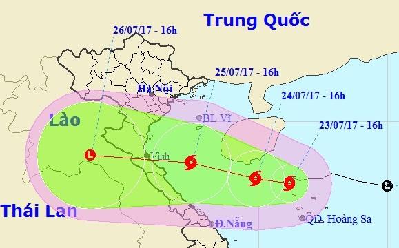 Bao so 4 tang cap, tien sat dat lien Bac Trung Bo hinh anh 1