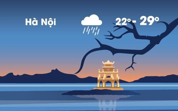 Thoi tiet ngay 24/4: Mua dong o Ha Noi va Sai Gon hinh anh