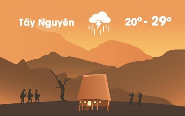 Thoi tiet ngay 11/7: Nam Bo va Tay Nguyen mua lon hinh anh