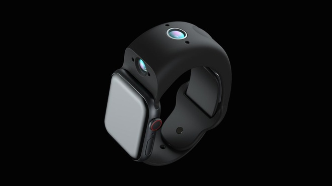 Apple ra mat day deo camera cho Apple Watch anh 1