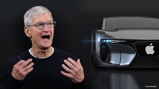 Nganh oto thay doi vi Apple anh 1