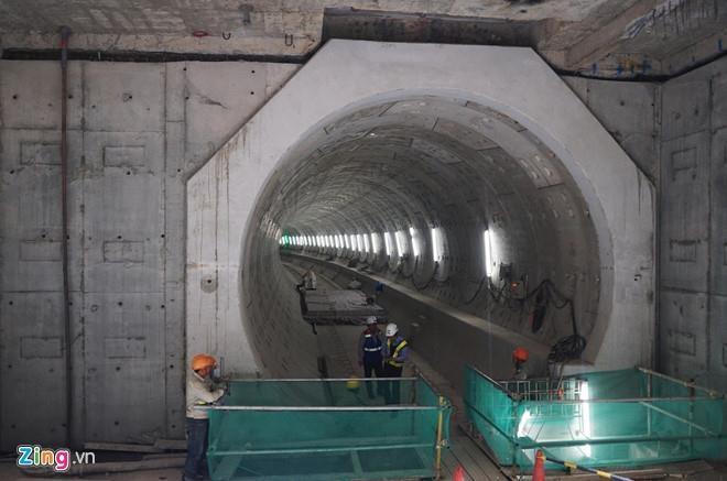 Mực nước ngầm Sài Gòn hạ bất thường, tuyến metro số 1 có bị ảnh hưởng?