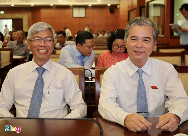 Thủ tướng phê chuẩn kết quả bầu 2 phó chủ tịch UBND TP.HCM