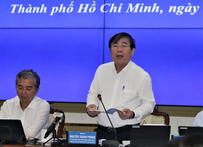 """Chủ tịch Nguyễn Thành Phong: """"Thành phố nói nhiều mà có làm được đâu"""""""
