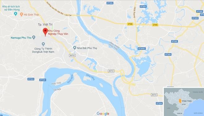 Chay lon suot dem o khu cong nghiep Thuy Van hinh anh 3