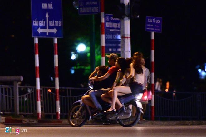 10 tụ điểm nghi mại dâm tại Hà Nội không có phố Trần Duy Hưng