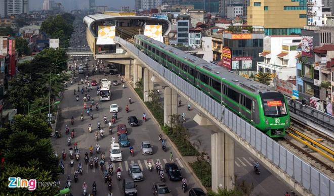 Hà Nội chốt khung giá vé đường sắt Cát Linh – Hà Đông