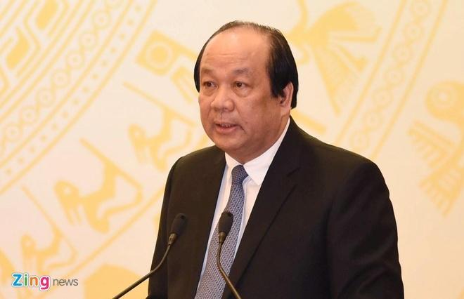 Ong Mai Tien Dung: 'Mat bang lai xe phai thi lai la de xuat buon cuoi' hinh anh 1