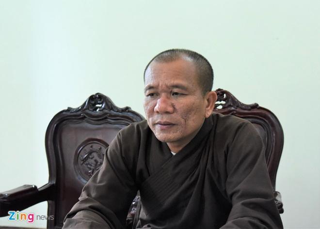 Dai duc Thich Truc Thai Minh xin loi anh 1