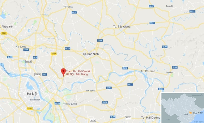 Cao toc Ha Noi - Bac Giang co nguy co dung thu phi hinh anh 2