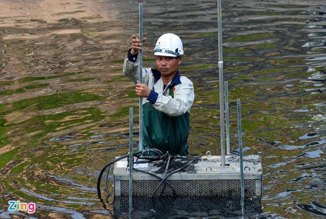 """""""Từ nay xả nước hồ Tây không ảnh hưởng đến việc làm sạch sông Tô Lịch"""""""