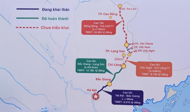 Cao toc Bac Giang - Lang Son thong xe ky thuat hinh anh 2