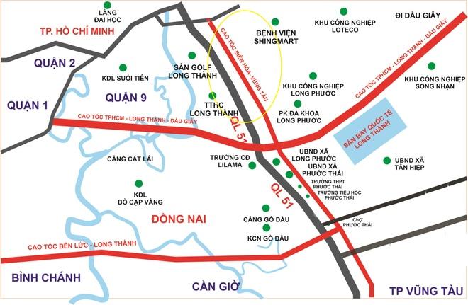Xuc tien xay cao toc Bien Hoa - Vung Tau de 'cuu' quoc lo 51 hinh anh 1