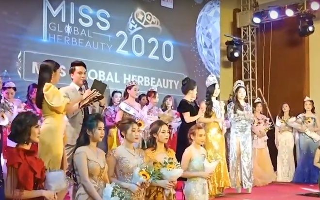 Miss Global Her Beauty thi chui anh 1
